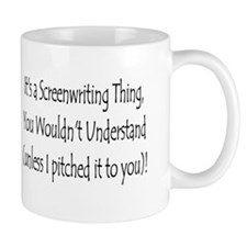 """Screenwriting Thing"" Mug"