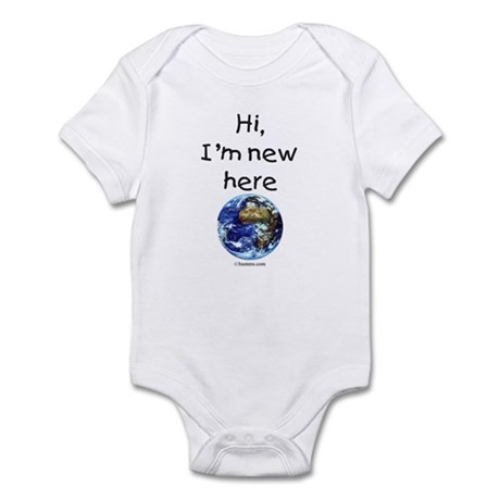 New Here Earth Infant Bodysuit