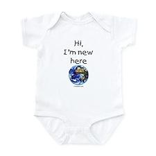 New Here Earth Infant Bodysuit