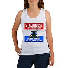 Stackhouse for President Women's Tank Top