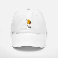 Violin Chick Baseball Baseball Cap