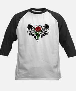 Rose tattoo Kids Baseball Jersey