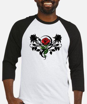 Rose tattoo Baseball Jersey