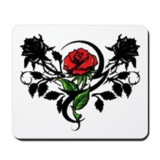 Rose tattoo Mousepad