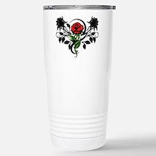 Rose tattoo Travel Mug