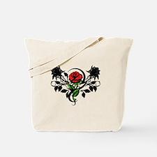 Rose tattoo Tote Bag