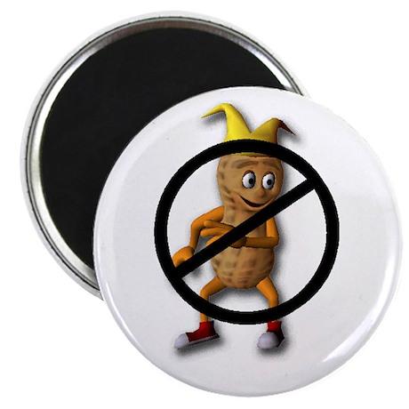 No Peanuts! Magnet