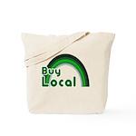 Buy Local Reusable Canvas Tote Bag