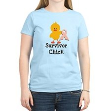Pink Ribbon Survivor Chick T-Shirt