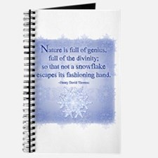 Natures Snowflake Journal