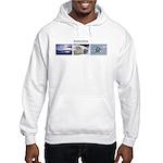 3 Antarctic Pictures - Set 1 Hooded Sweatshirt