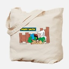 Snuffy Sleeping Tote Bag