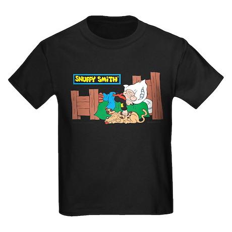 Snuffy Sleeping Kids Dark T-Shirt
