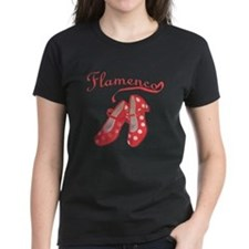 Red Flamenco Shoes Tee