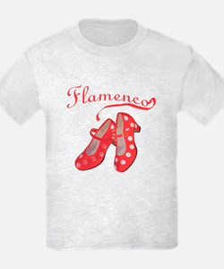 Red Flamenco Shoes T-Shirt
