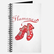 Red Flamenco Shoes Journal