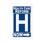 Health Care Reform Now Car Sticker