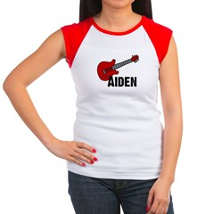 Guitar - Aiden Women's Cap Sleeve T-Shirt