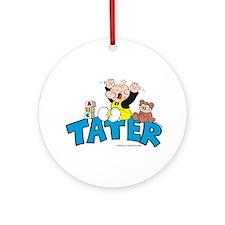 Tater Ornament (Round)