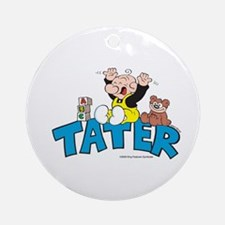 Tater Ornament (Round)