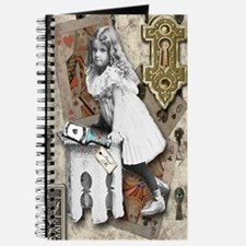 Alice through the Key Hole Journal