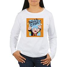 Balls O'Fire! Women's Long Sleeve T-Shirt