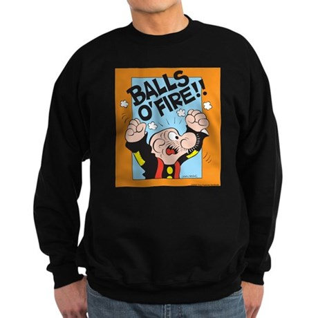 Balls O'Fire! Sweatshirt (dark)
