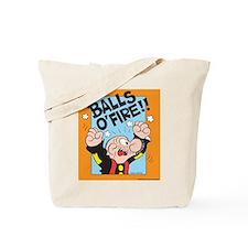 Balls O'Fire! Tote Bag