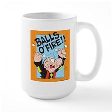 Balls O'Fire! Large Mug