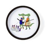 Gator Girls w/ Dawgs Wall Clock