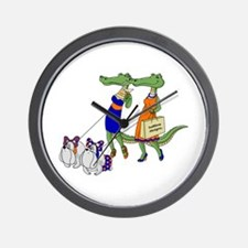 Gator Girls w/ Dawgs Wall Clock