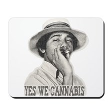 Yes We Cannabis Mousepad