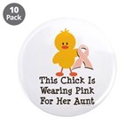 Pink Ribbon Chick For Aunt 3.5