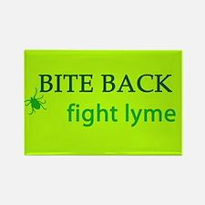 Bite Back: Fight Lyme Rectangle Magnet