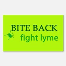 Bite Back: Fight Lyme Rectangle Decal