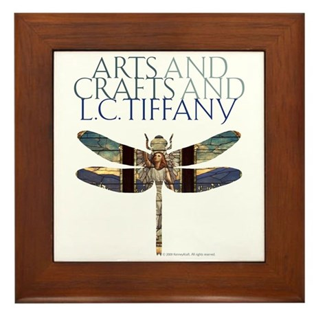 Tiffany Framed Tile