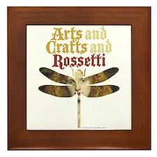 Rosetti Maiden Framed Tile