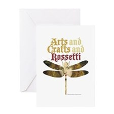 Rosetti Maiden Greeting Card