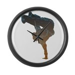 breakdancer Large Wall Clock