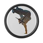 breakdancer Large Wall Clock
