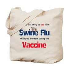 Swine Flu Truth Tote Bag