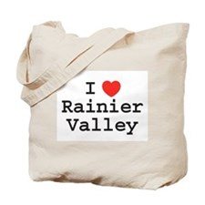I Heart Rainier Valley Tote Bag