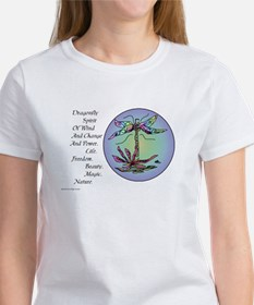 BRIGHT DRAGONFLY SPIRIT Women's T-Shirt