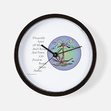 BRIGHT DRAGONFLY SPIRIT Wall Clock