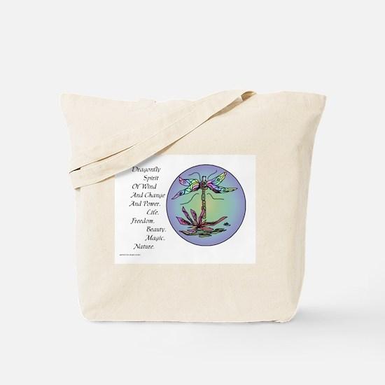 BRIGHT DRAGONFLY SPIRIT Tote Bag