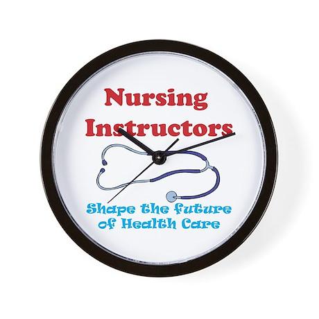 Nursing Instructors Wall Clock