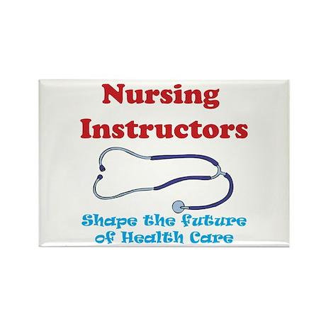 Nursing Instructors Rectangle Magnet