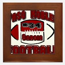 PASO FOOTBALL (#34 garcia) Framed Tile