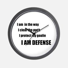 Defense Wall Clock