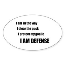 Defense Oval Decal